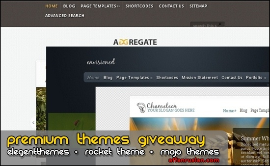 Themes Giveaway