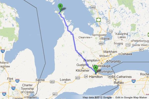 Hamilton Bruce Peninsula