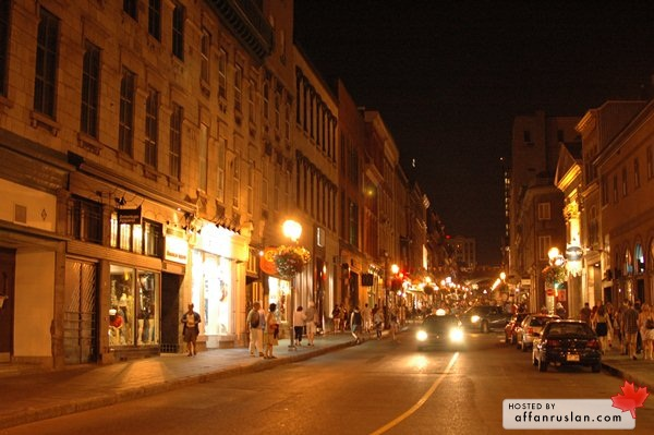 Malam di Quebec