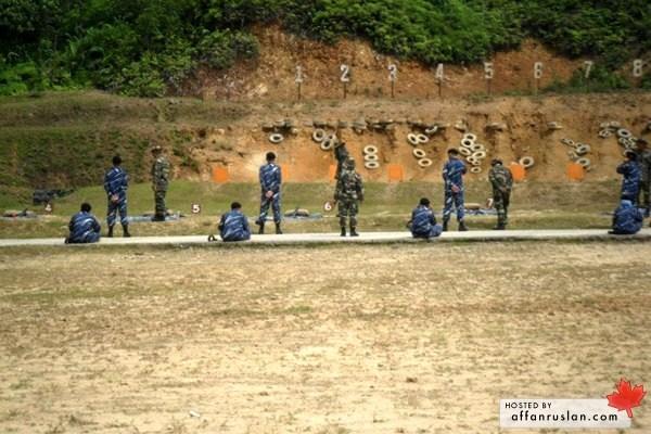Lapang Sasar Menembak PLKN