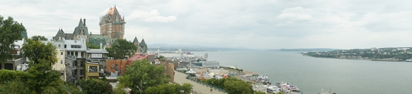 Panorama of Quebec