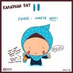 sebelum ini saya pernah post kartun comel renungan ramadhan bahagian 1