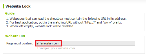 shoutmix chatbox