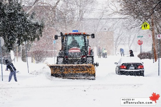 shovel snowday